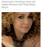 Essentially Pop - Charismatic Colombian Artist Iaki Vallejo Releases Self-Titled Debut Album