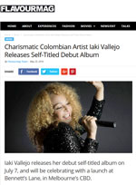 Flavourmag - Charismatic Colombian Artist Iaki Vallejo Releases Self-Titled Debut Album