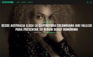Desde Australia llega la cantautora colombiana Iaki Vallejo para presentar su álbum debut homónimo